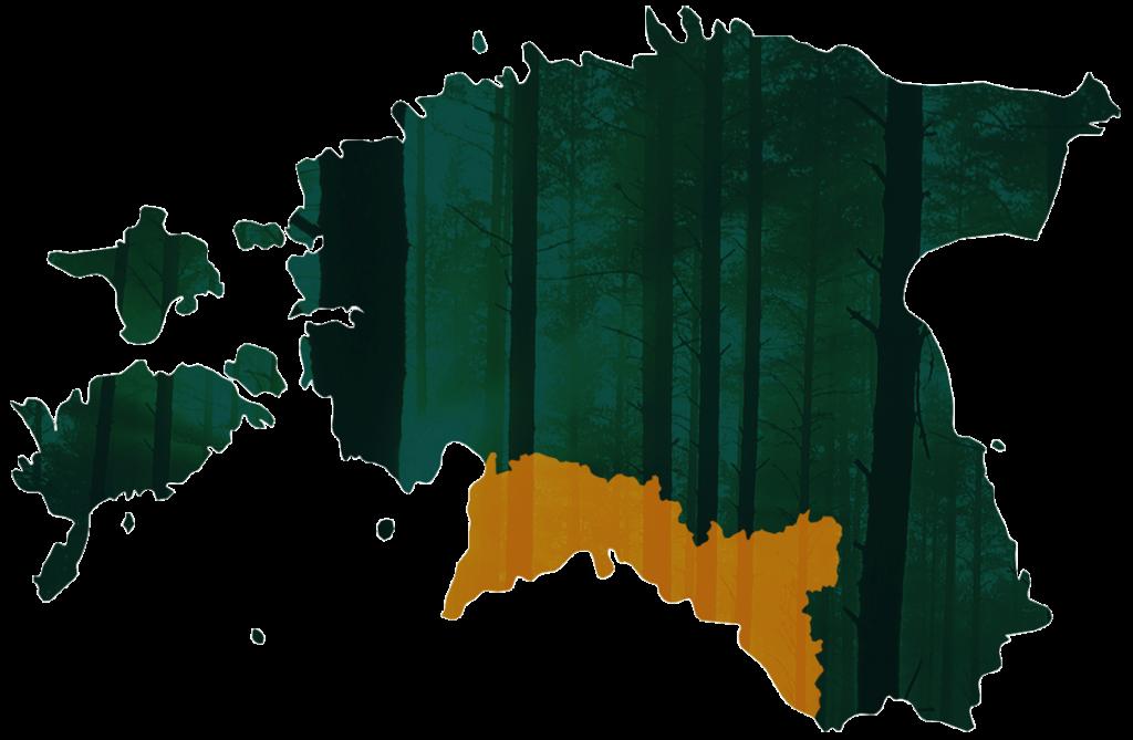 Valgamaa Metsaühistu piirkond
